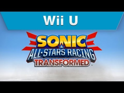 Wii U - Sonic & All-Stars Racing Transformed Gamescom Trailer