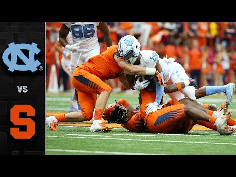 North Carolina vs. Syracuse Football Highlights (2018)