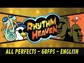 Gambar cover Rhythm Heaven English DS - All Perfects 60 fps