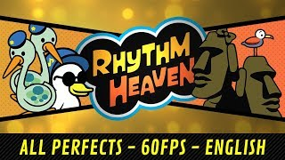 Rhythm Heaven (English DS) - All Perfects (60 fps)
