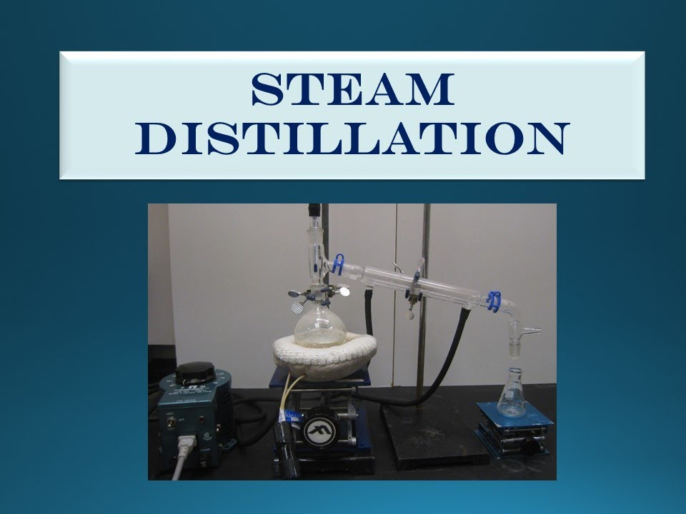 how to do steam distillation at home