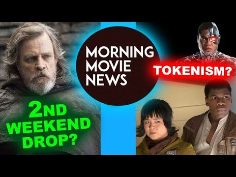 "The Last Jedi 2nd Weekend Drop? Finn, Rose or Cyborg ""Tokenism""?"