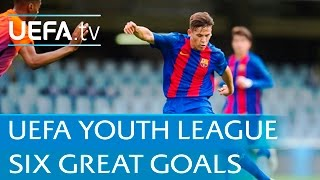 UEFA Youth League highlights: Watch six of the best goals so far
