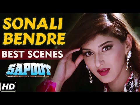 Best of Sonali Bendre Scenes (HD) - Sapoot | Hindi Movie | B