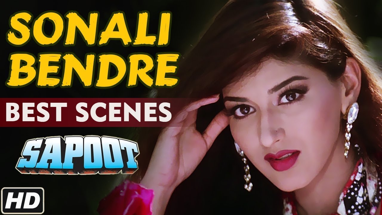 Best Of Sonali Bendre Scenes Hd Sapoot Hindi Movie Bollywood Video