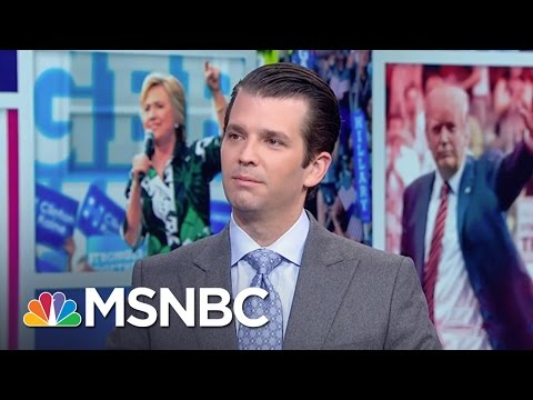 Donald Trump Jr.: There Are Many Different Paths | Morning Joe | MSNBC