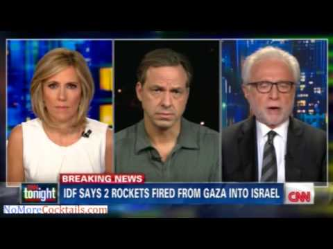 """CNN's Wolf Blitzer on Broken Gaza Ceasefire: These Could Be """"Isolated Rockets"""""""