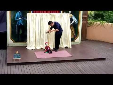 Puppet Show in Petite France, Gapyeong Resort, South Korea