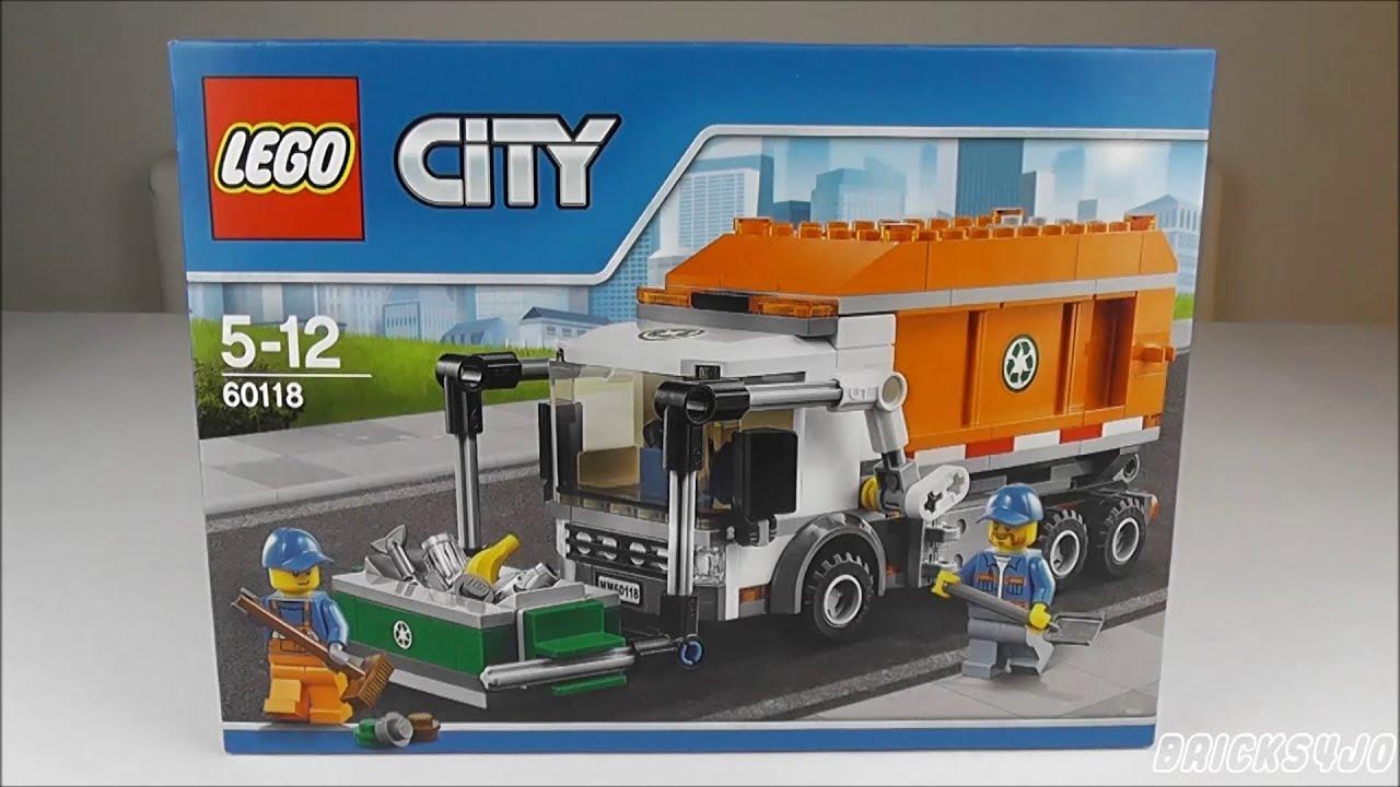 LEGO 60118 City Müllabfuhr - Review deutsch - - YouTube