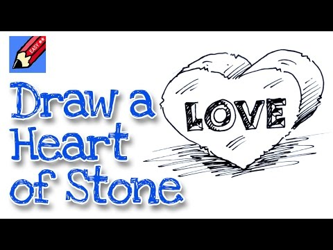how to draw a fancy heart
