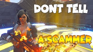 0% of People Know This SCAM TRAP!! 🤫🤯 (Scammer Get Scammed) In Fortnite Save The World