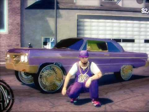 cool purple cars my cars on saints row 2 youtube