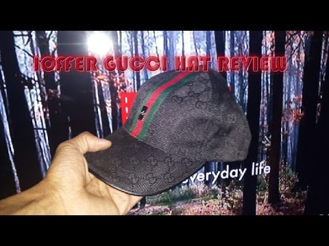 IOFFER GUCCI HAT REVIEW 2015 - YouTube 1cabaf9e55c