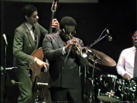 Freddie Hubbard  A night in Tunisia Ancona Jazz 85