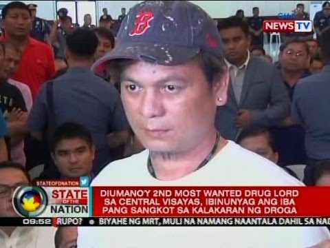 Diumano'y 2nd most wanted drug lord sa Central Visayas, ibinunyag  ang iba pang sangkot