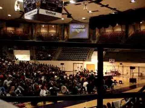 ACU Chapel  Acapella Singing