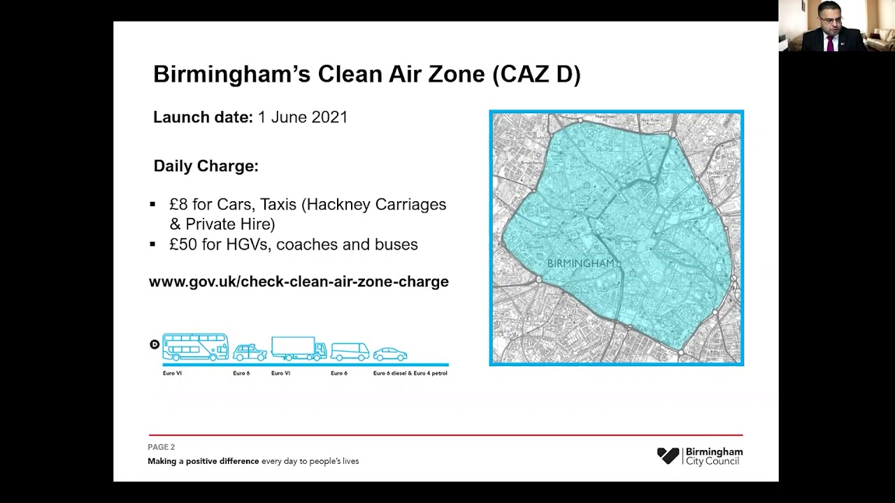 Clean Air Zone Briefing – Are you ready for June 2021?