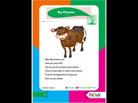 Moo..Moo brown cow
