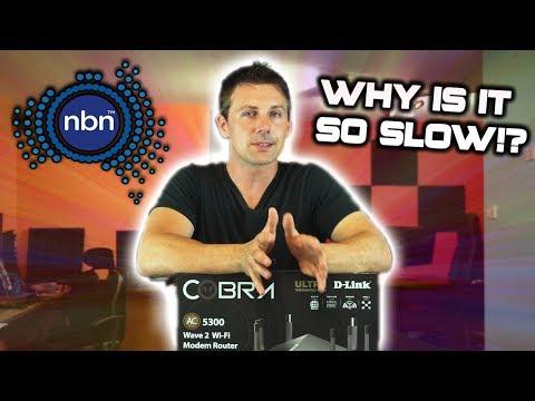 Australia's NBN Internet Network & It's Problems Explained Ft. The D-Link DSL-5300