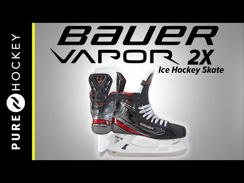 Bauer Vapor 2X Ice Hockey Skates | Product Review - YouTube