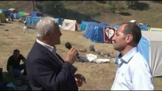 2013 İnci Köyü Dağ günü (Çadır ziyaretleri 1)