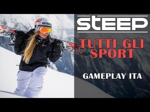 TUTTI GLI SPORT - STEEP - GAMEPLAY ITA - #1