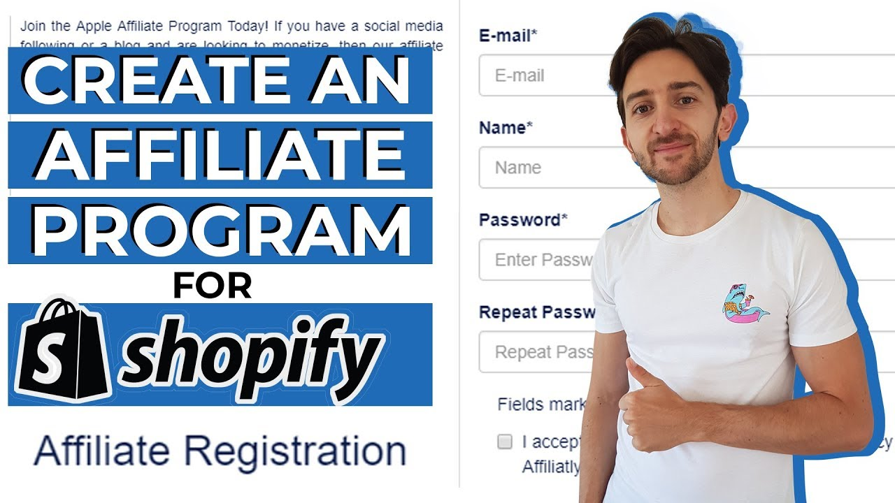 How To Start An Affiliate Program With Shopify (2019)