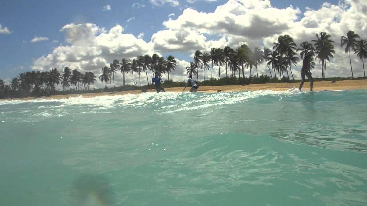 Surfing Macao Beach Punta Cana