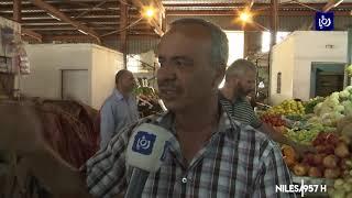 مواطنون يشكون من ارتفاع أسعار الخضار والفاكهة في أول أيام  شهر رمضان (6-5-2019)