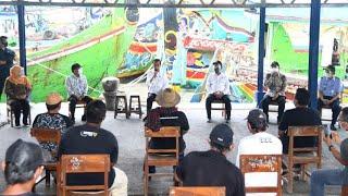 Dialog Presiden Jokowi bersama Perwakilan Nelayan, Kabupaten Lamongan, 6 Mei 2021
