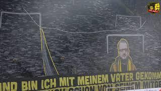 Borussia Dortmund - VFL Wolfsburg CHOREO
