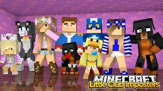 Minecraft Little Kelly : THE LITTLE CLUB IMPOSTERS!( Halloween…