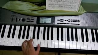 Hướng dẫn đánh bài Hành khúc Thổ Nhĩ Kỳ - Turkish March Piano Tutorial - Part 2 - Left hand