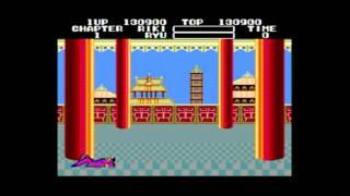 Classic Game Room - BLACK BELT Sega Master System review