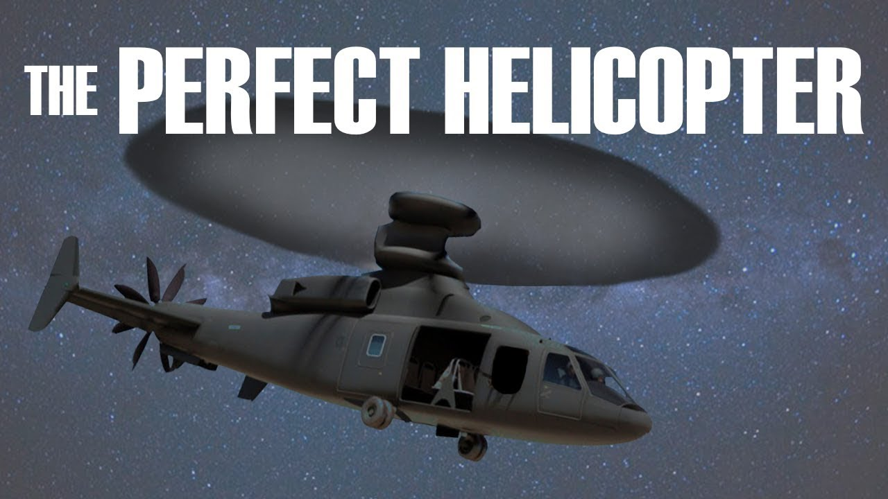 The Perfect Helicopter: Understanding Coaxial Rotor Design | The
