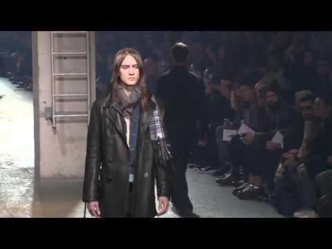 Défilé Lanvin – collection HOMME Automne-Hiver 2016-17 à Paris