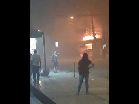 Incêndio em doceria em Santo Amaro próximo a Santa Casa(4)