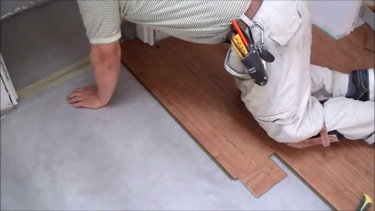How To Install Laminate Flooring On Concrete Slab In Tiny Room