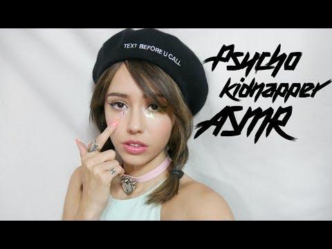 ASMR Psycho Kidnapping 🗡️(whispering, latex, cutting) Melanie Martinez +  Mr. Jefferson inspired