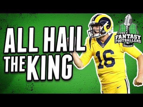 How Great is Goff? | Fantasy Football Superstar?