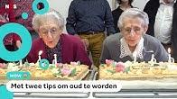 Franse tweeling viert samen honderdste verjaardag