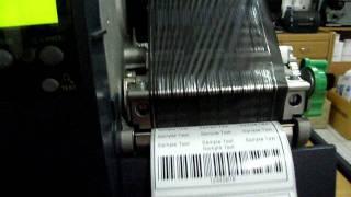 видео Принтеры этикеток штрихкода Datamax DMX M-4208