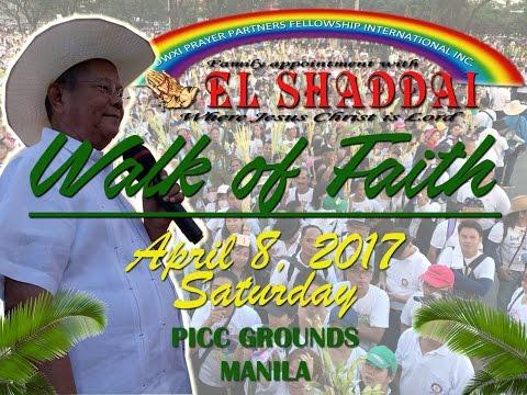EL SHADDAI - WALK OF FAITH 2017