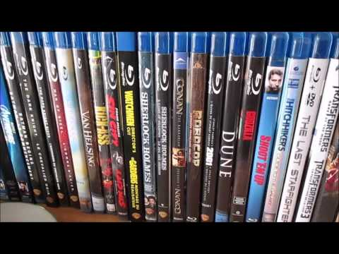 2015 Blu Ray/DVD Collection Overview Part 1 - Sci-fi and Fantasy