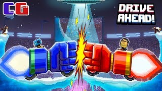 FISTICUFFS and BATTLE WITH the DEVELOPERS of Cartoon game the Battle battle of cars Drive Ahead