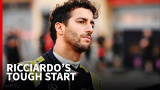How reality is setting in for Ricciardo at Renault