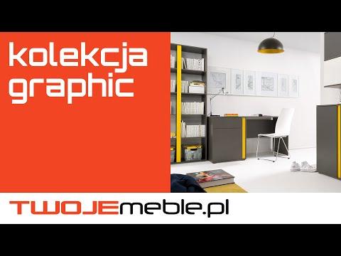 Recenzja Kolekcja Graphic Black Red White Twojemeblepl
