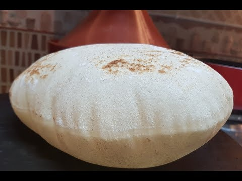 Arabic Bread / how to make pita Bread at home / Grilled Flatbread  خبز عربي بدون فرن