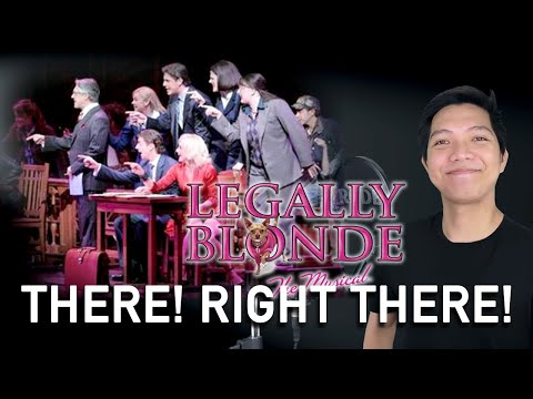 There! Right There! (Male Parts/Ensemble Only - Instrumental) - Legally Blonde The Musical