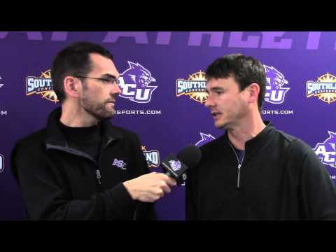 ACU Men's Basketball Interviews: Joe Golding and Riley ...